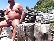 Chubby Beach Wanker