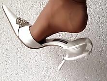 Candid arabic dangling hot sandale part dieu lyon - 2 3