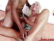 Horny Old Woman Is Often Getting Fucked In Front Of The Camera T