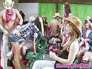 Blowjob Amateurs At Cfnm Party In Group