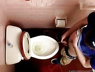 Amazing Gay Scene Unloading In The Toilet Bowl
