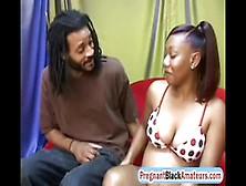 Pregnant Redhead Ebony Fucks Before Giving Birth