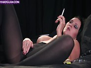 Amber Leigh - Getting Horny And Masturbating In Stockings