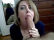 Housewife Devouring A Big Cock