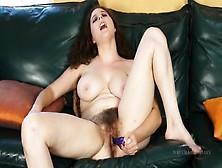 Hairy Mature Pussy Masturbation