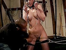 Roped And Groped Jesika Gold Gets Fucked In Bdsm Video