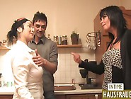 Horny Couples Invites Their Friend For Swapping