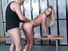 Dazzling Blonde With Splendid Boobs And Ass Brynn Tyler Gets Cre