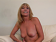 Mature Pornstar With Natural Tits Shows Off Her Shaved Pussy Clo