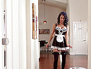 Horny Maid With Wavy Hair Gets Ass Fucked By Her New Boss