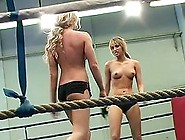 Aleska Diamond And Cristal May Fight On A Ring And Eat Pussies
