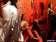 Drunk Party Lesbo Girls Have A Good Time Kissing Each Others