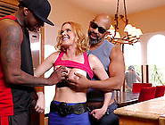 Two Big Black Boners Fuck Cheating Wife Krissy Lynn