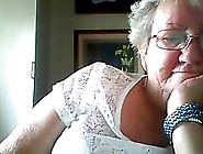 Dirty Granny Shows Her Tits On Webcam