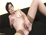 Adorable Mature Woman Is Playing With Her Pussy