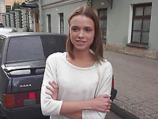 Russian Amateur Babe Gets Nailed Hard In This Nasty Casting