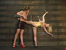 Aaralyn Barra Gets Whipped And Toyed By Kayla Paige