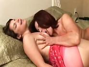 Aunt Comforts Her Niece