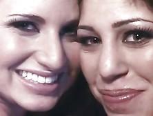 Britney Stevens Larin Lane Swap & Swallow Cum