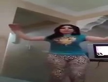 Hot Arab Girl Sexy Dance At Home