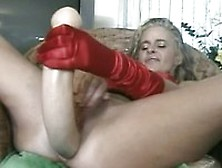 Amazing Ty With Huge Anal Toys