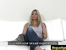 Busty casting brit dickriding reversecowgirl 2