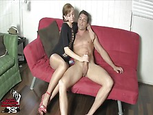 Edged And Milked By Lizzy Lamb Teen Handjob