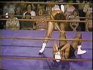 Iwa Women's Tag Team Match 1970's Era
