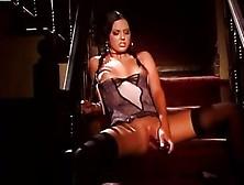 Destiny St Claire Dildo Fucks Her Juicy Moist Pussy