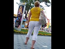 Russian Sexy Mature Ass! Amateur Hidden Cam!
