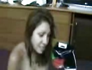 Amateur Wife Drinks Her Man's Ejaculated Cum