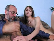 Hardcore Lesson With Sexy Luscious Babe