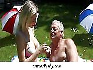 Old Man Enjoying Huge Boobs And Young Pussy By Pesby