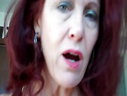 Dirty Talking Redhead Mommy & Son