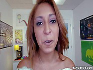 Exotic Looking Chick Sarai With Tan