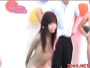 Asian Teen Girls Nude On Game Show