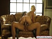 Sexy Blonde Slut Stevie Shae Pounded On The Couch