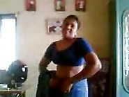 Tamil Aunty Stripping And Then Giving Blowjob