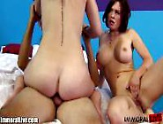 Krissy Lynn And Eden Young Threesomed