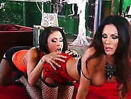 Kristina Rose And Her Girlfriend Put On Some Sexy Lingerie And A