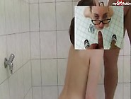 18 Year Old Teen With In Glasses Golden Shower