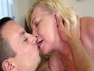 Whore Is Old But Wants To Taste Male Balls And Get Drilled Hard