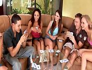 Teen Girls Playing Strip Poker