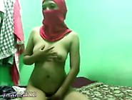 Real Egypt Arabian Wife In Hijab Caught Fucking Hard On Homemade