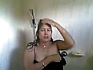 Chubby And Playful Amateur Indian Aunty Showering On Cam