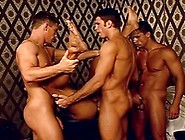 Spunk Shower Group Anal Stretching With Hot Arab Muscled Studs