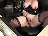 Milf With Natural Tits Solo Play On Camera