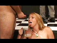 Whore Eats A Cum Omlette 2
