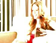 Bigtitted Honey Lauren Elise Spills Milk Onto Her Breasts