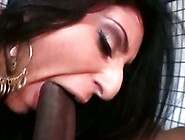 Luscious Lopez Has A Big Black Nob Slipped Up Her Juicy Cock Slo